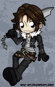 Squall - Final Fantasy 8 by amy-art