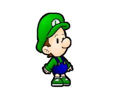 baby luigi by Nintendrawer