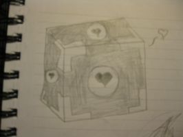 Companion Cube by awooo0