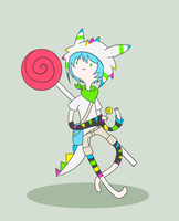 Lollipop Adventurer Concept - Strobe Lights by AskTheRabbitPrince