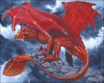 Red Dragon by KaiserFlames