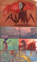 Gouache Sketches by bearmantooth