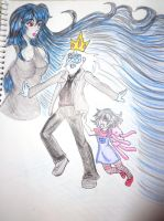 Simon y  Marcy by kittymetal8406