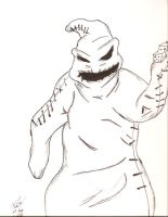 Oogie Boogie by friday13thkiller