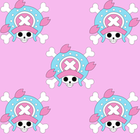 One Piece Tile Background: Chopper by yohohotralala