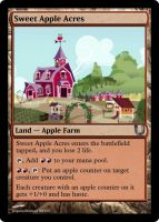 MLP_FiM_MTG-Sweet Apple Acres by pegasusBrohoof