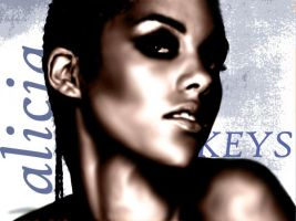 Alicia Keys by haveacookie