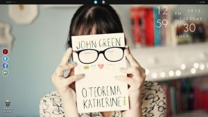 The book green - Desktop by Ihavethedreamersdise