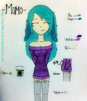 [OC-Reference] -Momo- by Tiny-Little-Bunny