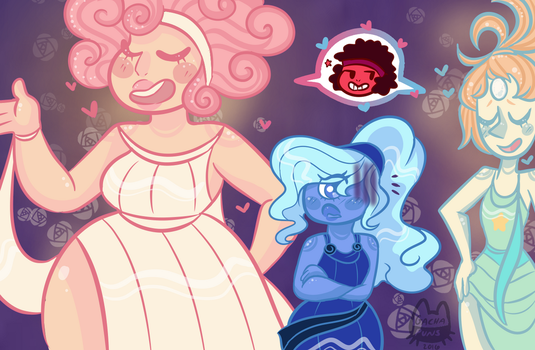 // Sapphire Wont Say Shes In Love // by Gachapuns