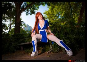 Kasumi: Waiting by MoonFoxUltima