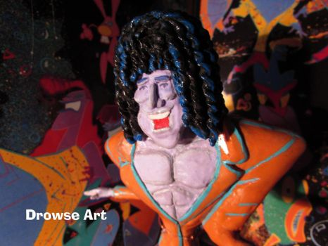 Brian May Sculpture by DrowseART