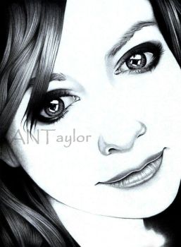 Alyson Hannigan Portrait by Samurai-Dreamer