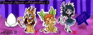 Forest Spirit Adopts 2 OPEN 1 left! by AeternaAdoptables