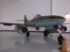 Messerschmitt Me-262A-1 Schwable by TheAngryFishbed