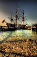 Captain Cooks Endeavour by photorealm