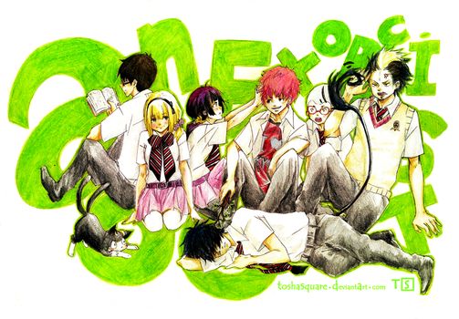 Ao no Exorcist by ToshaSquare