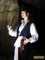 KH : Captain Axel , Pirate cosplay by MischievousBoyAilime