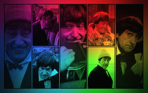 Second Doctor wallpaper by Leda74