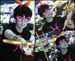 Meenah Peixes: DONT MOT)(---ERGLUBBIN CROSS M---E! by BlackRoseMikage