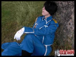 Rest :Roy Mustang: by Circe-Baka