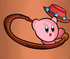 Kirby Tuesday-Whip by thegamingdrawer