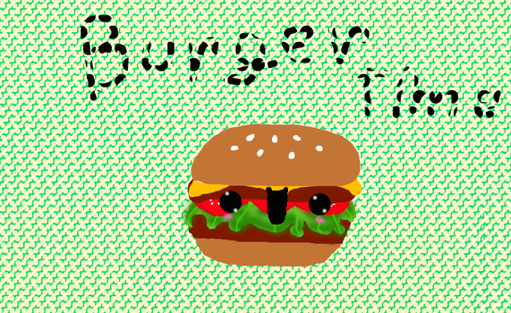 bUrGer TiMe :D by AliceCatLilly
