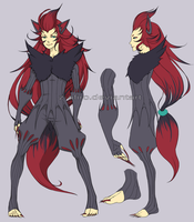 Kandata the Zoroark Gijinka by Z-afiro