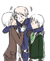 Doodle - White haired gang by DinoTurtle