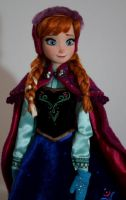 LE Snow Gear Anna OOAK doll by lulemee