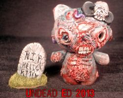 Zombie Hello Kitty Masterpiece by Undead Ed by Undead-Art