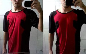 Deadpool Custom T-Shirt by br34dk1d