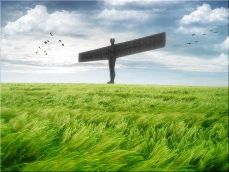 Angel Of The North by welshdragon