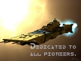 Dedicated to all Pioneers, SDF by fokkerfanjet