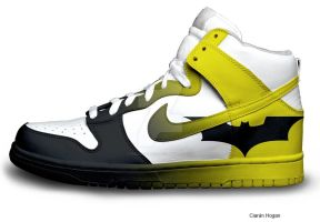 Nike Batman by Houggiebear