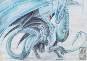 Ice Dragon Kupello by TheUmbraArtist