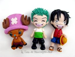 One Piece Clay by tanadelbianconiglio