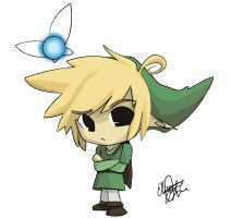 Pouty Link - Legend of Chibi by darkmagic814