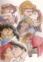The Disney Kiss by CowgirlSpirit