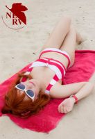 Neon Genesis Evangelion Swimsuit Cosplay - Asuka by SailorMappy