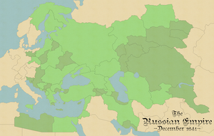 RussianEmpireAltHistMap by DWebArt