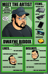 Meet the Artist by dwaynebiddixart