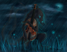 Violin by Arcue