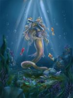 Mermaid by Lady-DreamArt