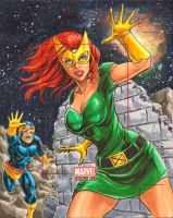 Bronze Age AP - Jean Grey by JediDad