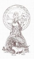 wrong depicted the goddess Air by vivean2005
