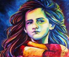 Brightest witch of her age. by Valk-Abarai