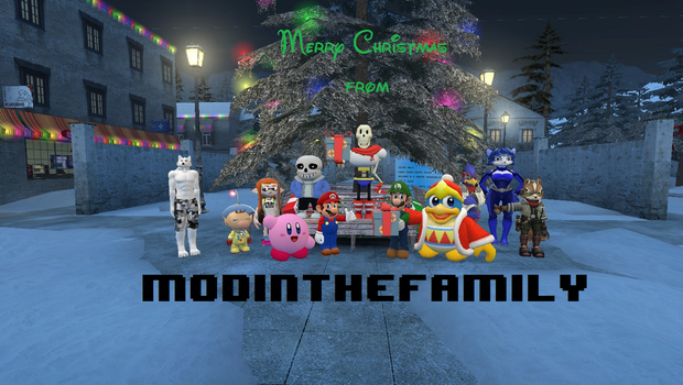 ModInTheFamily Christmas by Wrenchy247