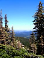 High Country View by AKFrostwriter