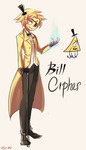 Gravity Falls: Bill Cipher by Usu-mi